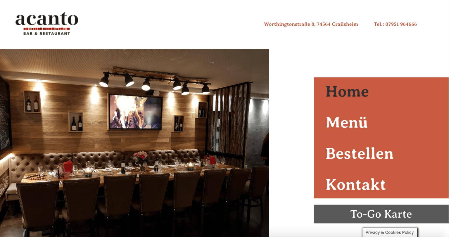 Webdesign Crailsheim Referenzen